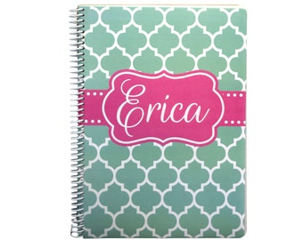 Large Personalized Spiral Notebook | Journal | Personalized Notebook - Design Your Own [DYO]