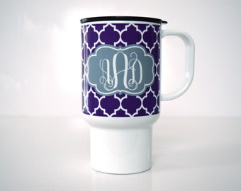 Monogrammed Coffee Tumbler