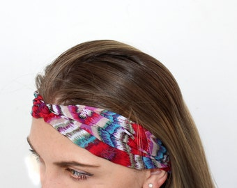 Turban Twist Head Wrap Headband Twisted Knotted Hair Band