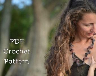 Crochet Pattern - Breastfeeding/Teething/Babywearing Necklace