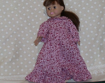 OOAK ag prairie dress with pinafore