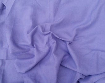 Linen Blend Fabric by the Yard PURPLE 7oz Medium Weight