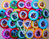 30 ct Paw Patrol cupcake toppers personalized birthday party favors decoration