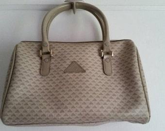 Liz Claiborne Taupe Speedy Bag