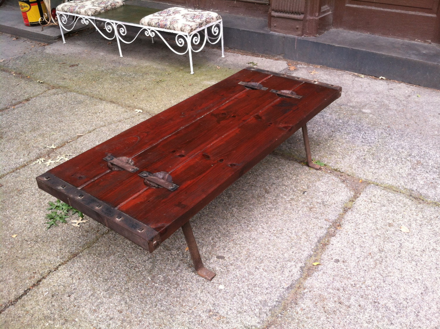 Cargo coffee table instacoffeetable cargo coffee table geotapseo Gallery