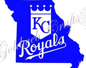 Kansas City Royals Car Decal