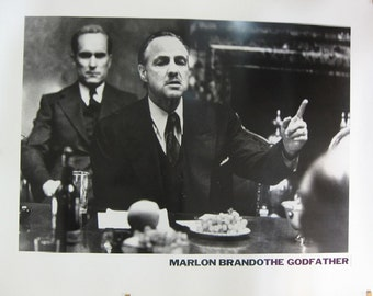 Marlon Brando - The Godfather Art Print