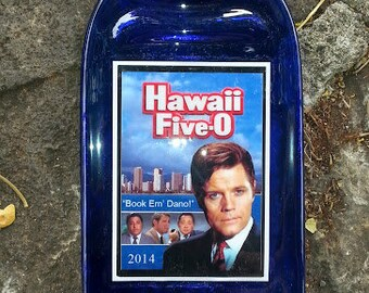 Hawaii Five-O, Jack Lord. Book Em' Dano! (Wine & Cheese Platter)