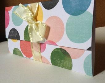 Valentine Gift card Holder/gift filler/ trendy/sweetheart