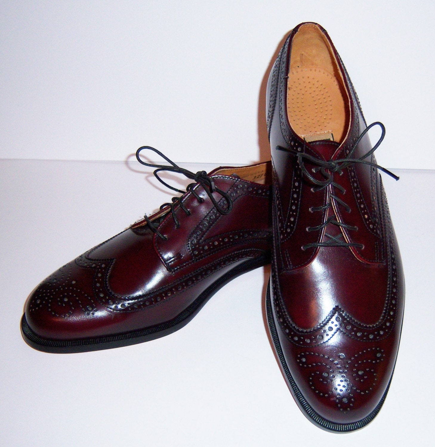 vintage cole haan oxblood leather classic by vintageprepgirl