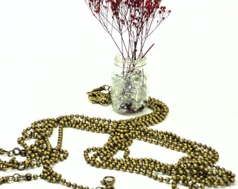 sac hermes birkin - 48 Antique Brass Long Purse Chain & Etched by MeiMeiSupplies