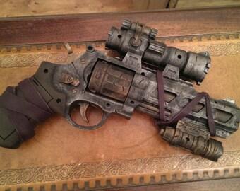 STEAMPUNK gun, Revolver Mk.2, pistol ! For cosplay