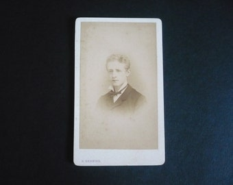Antique Victorian French Young Man/Boy Photography