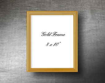 PictureFrame8x10 inches Gold or Silver