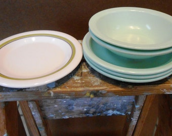 Cafeteria Dishes from the 1970's