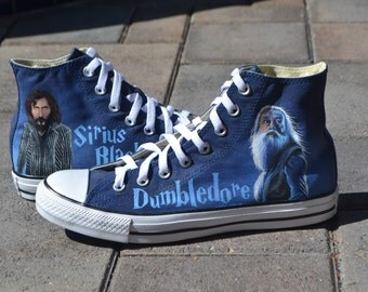 Hand Painted Harry Potter Converse