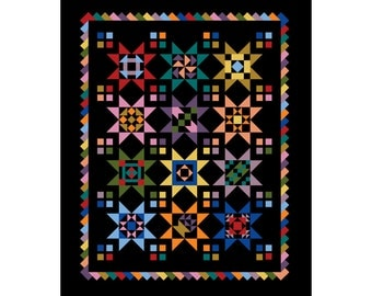 50 PERCENT OFF SALE 90x111 American Traditions Sampler Quilt Pattern by Danna Kilby of Notions & Whims