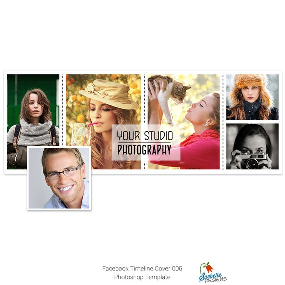 Facebook Timeline Cover Photoshop Template 005