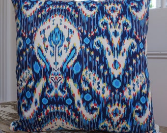 Amy Butler Kasbah in Midnight Lark Collection cushion cover/pillow measuring 45cm or 18 inches
