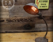 Vintage Industrial Steampunk Desk Lamp
