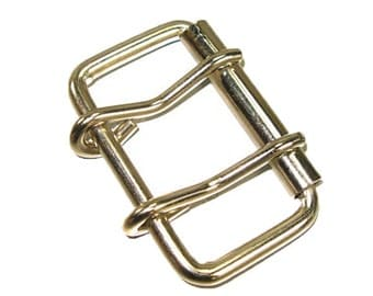 "2 Prong Roller Buckle 2-1/2"" Nickel Plated 1556-00"