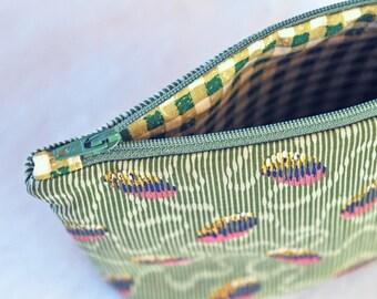 Zipper Pouch Cosmetic Bag Makeup Bag Gadget Case Bridesmaid Gift
