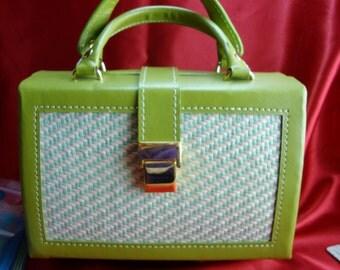 Jewelry Box Purse Green