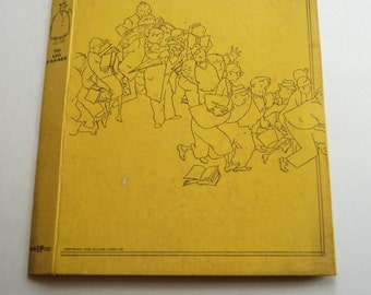 Vintage 1932 Wilson-Jones Co Notebook, Loose Leaf Binder, The Big Parade