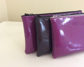 Clutch Purse Sparkle Vinyl