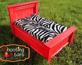 Photography Photo Prop Bed/ Photographers Prop/ Valentine's / Doll Bed/ Newborn Prop/ Distressed Furniture/