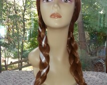 IN STOCK ADULT Size Princess Anna Wig, High Quality Wig