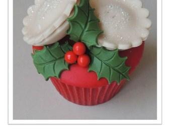 Mini Christmas Mince Pies Cupcake