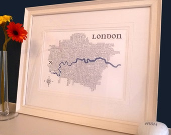 London word Map
