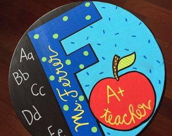 Classroom teacher decor,  Custom Painted Stools, painted stools