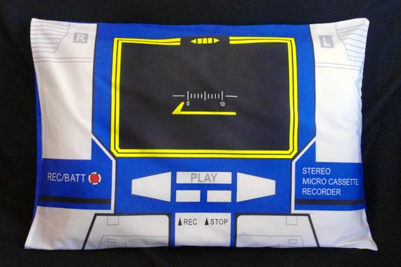 G1 Transformers Soundwave - Pillow Cases in standard and travel sizes