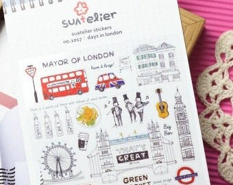 Mayor of London Sticker  - 1 Sheet