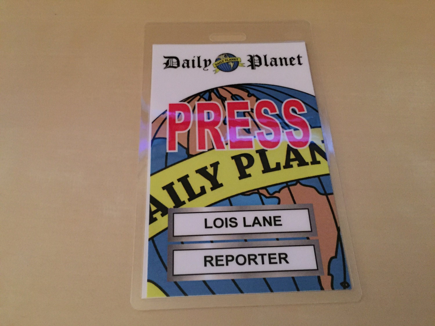 image regarding Lois Lane Press Pass Printable known as Photos of Every day World Push P Printable - www