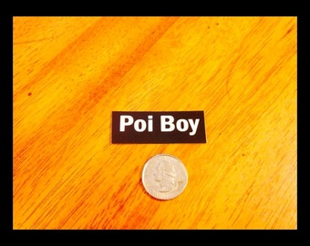 POI BOY Sticker - Great Hula Hoop Stickers - From Colorado Hula Hoops