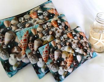 POLY-ZIP Photo Clutch -- Mermaid Treasure
