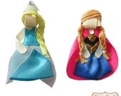 Frozen Hair Clip Set, Ann...