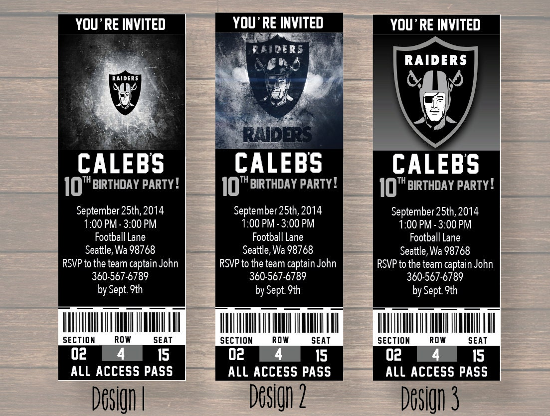 Raider Birthday Oakland Raiders Birthday