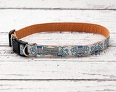 Coast Guard Collar // Military Dog Collar // USCG Collar