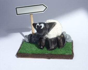A Piece Of Ireland with a ceramic sheep