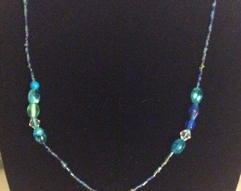 Seahorse turquoise necklace