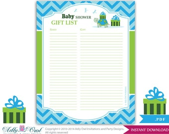 Boy mustache guest gift list guest sign in sheet card for boy turtle guest gift list guest sign in sheet card for baby shower birthday negle Image collections