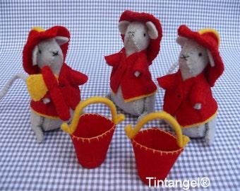 Fire fighter mice - DIY kit