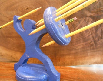 Pencil Warrior: Most Awesome Pencil Holder Ever.