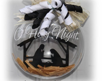 O Holy Night Christmas Ornament