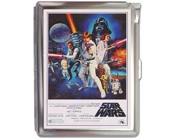 Star Wars  Cigarette Case Lighter Wallet Business Card Holder