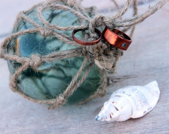 Beach Nautical Wedding Ring Pillow, Ring Bearer Alternative, Beach Ring Bearer Box, Nautical Ring Bearer Box, Hand Knotted, LIMITED EDITION